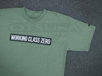 ワーキングクラスゼロ Tシャツ - スタンダード #ミリタリーグリーン Sサイズ