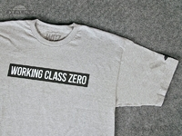 ワーキングクラスゼロ Tシャツ - スタンダード #アスレチックヘザー XLサイズ