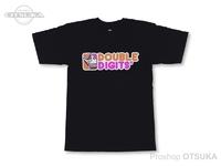 スイムベイトアンダーグラウンド Tシャツ - SU ダブルディジッツ #ブラック Mサイズ