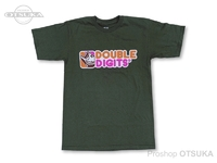 スイムベイトアンダーグラウンド Tシャツ - SU ダブルディジッツ #ODグリーン Sサイズ