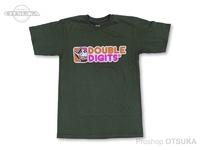 スイムベイトアンダーグラウンド Tシャツ - SU ダブルディジッツ #ODグリーン Mサイズ