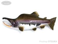工房釣り具ササキ屋 ザ・リアルブローチ  #カラフトマスA 全長約85mm