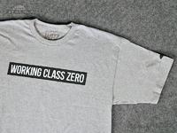 ワーキングクラスゼロ Tシャツ - スタンダード #アスレチックヘザー Mサイズ