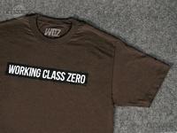 ワーキングクラスゼロ Tシャツ - スタンダード #チョコレート XLサイズ