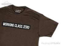 ワーキングクラスゼロ Tシャツ - スタンダード #チョコレート Lサイズ