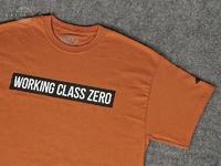 ワーキングクラスゼロ Tシャツ - スタンダード #オレンジ Mサイズ