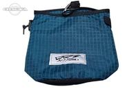 DRTディビジョンレーベルタックル ポーチ - ミニラビッシュバッグ #ブルー 20cm×20cm
