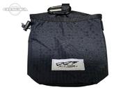 DRT ディビジョンレーベルタックル ポーチ - ミニラビッシュバッグ #ブラック 20cm×20cm