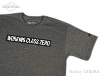 ワーキングクラスゼロ Tシャツ - スタンダード #チャコールヘザー Lサイズ