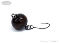 キングフィッシャー チョコっとボール -  #ちゃ 1.0g スローシンキング