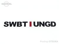 スイムベイトアンダーグラウンド ステッカー - SU アンスタックロゴ #ホワイト 約23cm