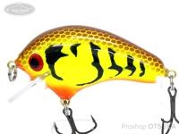 ジョンホットルアーズ クランクベイト - ダーティングR-2 #ブラウンチャートリュースクロー 5cm 10g