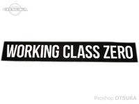 ワーキングクラスゼロ ステッカー - スタンダード #ブラック 約38cm