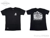 WCZ×SU シャツ - イルーシブビーストT #ブラック Sサイズ