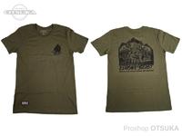 WCZ×SU シャツ - イルーシブビーストT #ODグリーン Sサイズ