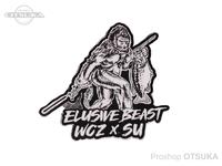 WCZ×SU ステッカー - イルーシブビーストダイカット