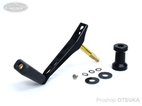 NSクラフト カーディナルROBOシングル - CCS50限定ヤマメ フラットディンプル黒 #シャフト黒ヤマメ/CCポストMBK 50mm  ダイワ、シマノノブ装着可能