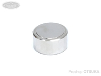 スプリームスタイル キャストコントロールキャップ -  チタン18角 #Ti-A01 磨き仕上げ アンバサダー1500C、2500C、その他