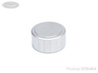 スプリームスタイル キャストコントロールキャップ -  チタン18角 #Ti-A02 艶消しシルバー アンバサダー1500C、2500C、その他