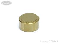 スプリームスタイル キャストコントロールキャップ -  チタン18角 #Ti-A06 シャンパンゴールド アンバサダー1500C、2500C、その他