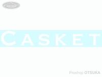 カスケット ステッカー - カスケットカッティング #ホワイト 200mmX30mm