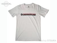 スイムベイトアンダーグラウンド Tシャツ - SU ワードマークロゴ #ホワイト Lサイズ