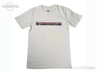 スイムベイトアンダーグラウンド Tシャツ - SU ワードマークロゴ #ナチュラル Lサイズ