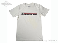 スイムベイトアンダーグラウンド Tシャツ - SU ワードマークロゴ #ナチュラル XXLサイズ