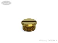 スプリームスタイル ハンドルノブキャップ - 純チタン #ディープゴールド スプリームスタイルノブに対応