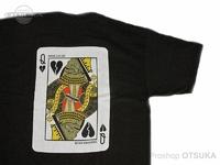 ワーキングクラスゼロ Tシャツ - クイーンオブブロークンハーツ #ブラック XLサイズ