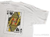 ワーキングクラスゼロ Tシャツ - クイーンオブブロークンハーツ #ホワイト Lサイズ