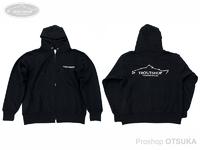 オオツカオリジナル オリジナルパーカー - トラウトショップ パーカー #ブラック/文字・オフホワイト Mサイズ 身丈69cm 身幅55cm 肩幅50cm