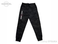スイムベイトアンダーグラウンド スウェットパンツ - SUイニシャル #ブラックカモ XLサイズ