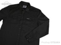 ワーキングクラスゼロ シャツ - スタンダードロゴボトムアップ #ブラック Mサイズ