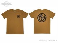 スイムベイトアンダーグラウンド Tシャツ - SU サークルロゴ #キャメル XXLサイズ