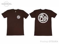 スイムベイトアンダーグラウンド Tシャツ - SU サークルロゴ #ダークチャコール Lサイズ