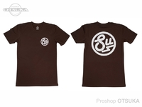 スイムベイトアンダーグラウンド Tシャツ - SU サークルロゴ #ダークチャコール XXLサイズ