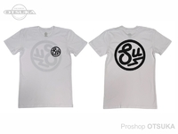 スイムベイトアンダーグラウンド Tシャツ - SU サークルロゴ #ホワイト XLサイズ