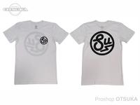 スイムベイトアンダーグラウンド Tシャツ - SU サークルロゴ #ホワイト XXLサイズ