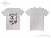スイムベイトアンダーグラウンド Tシャツ - 3/0 クラブ #ホワイト Sサイズ