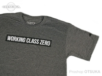 ワーキングクラスゼロ Tシャツ - スタンダードロゴ #チャコールヘザー XXLサイズ