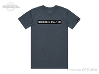ワーキングクラスゼロ Tシャツ - スタンダードロゴ #ペトロールブルー Sサイズ