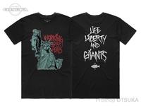 ワーキングクラスゼロ Tシャツ - リバティーバス アーティストシリーズ #ブラック XLサイズ