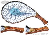 スプリームスタイル サブライム - カーブタイプ #本花梨瘤橙白5A 全長42cm 内径30cm 横19.5cm