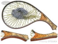 スプリームスタイル サブライム - カーブタイプ #本花梨瘤トリコロール5A 全長41cm 内径28cm 横19.5cm