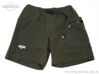 ニューカレントワークス ショーツ - DCX/DC #オリーブ XLサイズ