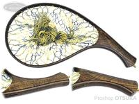 スプリームスタイル サブライム - カーブタイプ #神代栗(黄金タイプ)5A 全長41cm 内径28cm 横19.5cm