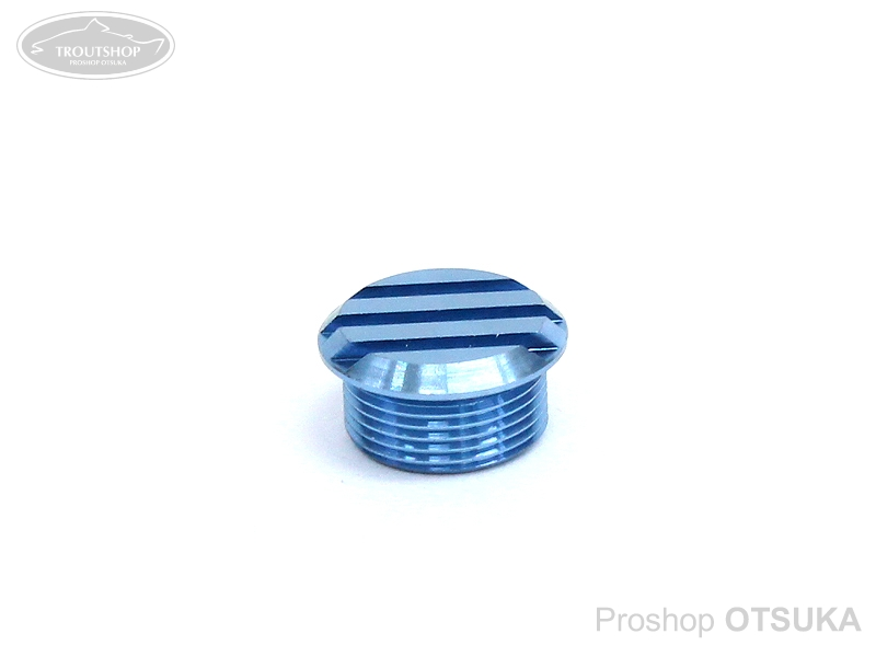スプリームスタイル ハンドルノブキャップ チタン64ハンドルノブキャップ スプリームスタイルノブに対応 #アイスブルー
