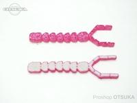 ウィーズスピリッツ ブタルアー - ユーヤン イチゴー #ピンク/ナチュラル 約130mm 個体差があります