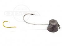 石丸産業 オリジナル1つテンヤ - 6号  親針19号 孫針5号
